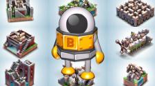 Fotos do jogo de puzzle Mekorama