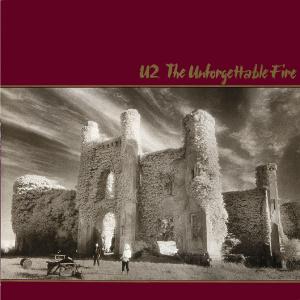 Capa do álbum Unforgettable Fire, do U2