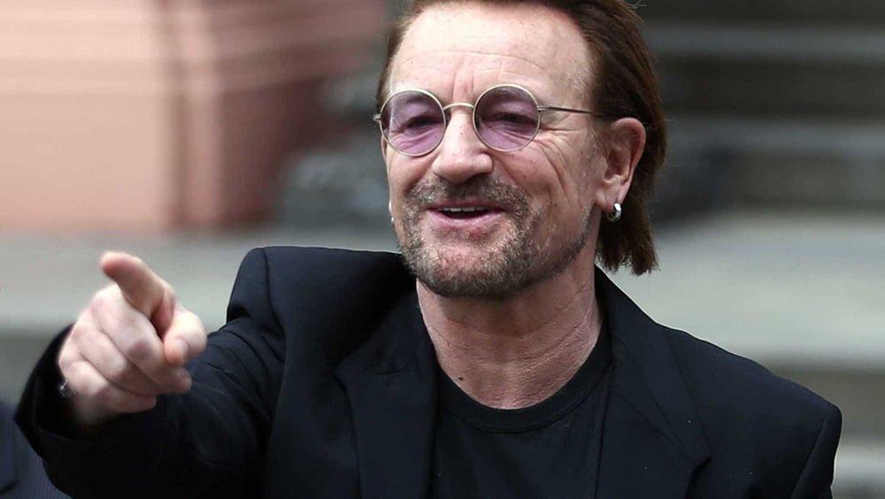 Bono Vox, foto aniversário 60 anos