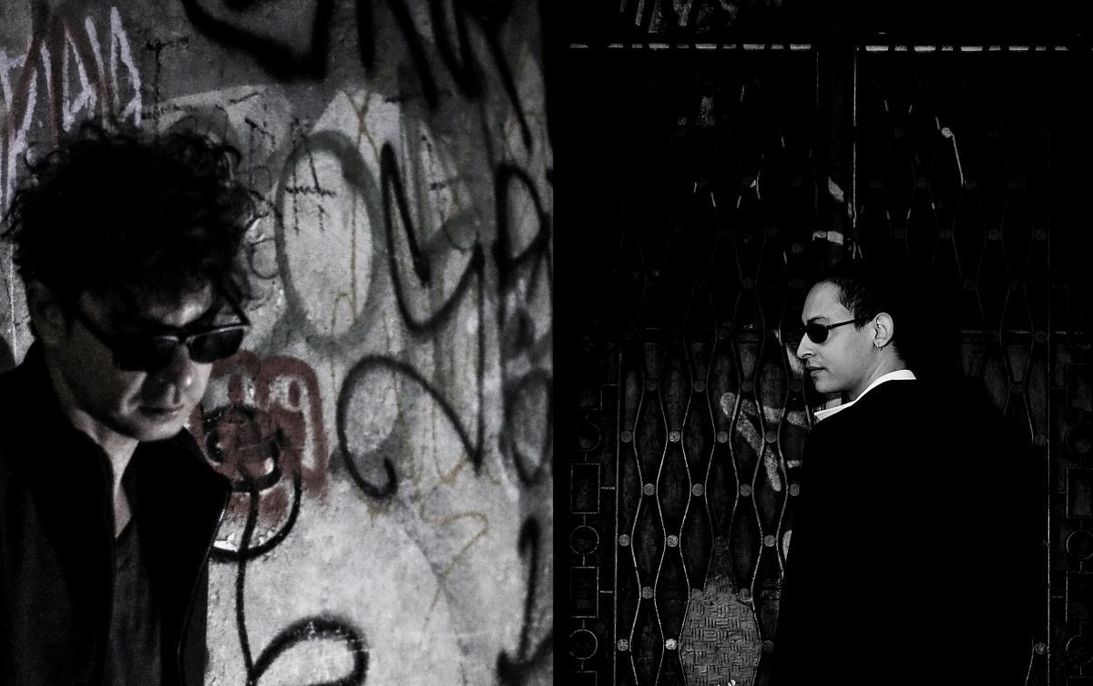 Ecos no Escuro, foto do duo