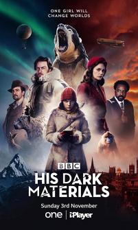 Poster da série His Dark Materials