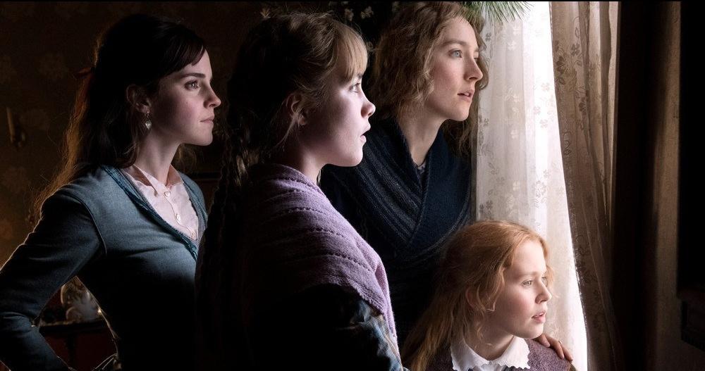 Cena do filme Adoráveis Mulheres