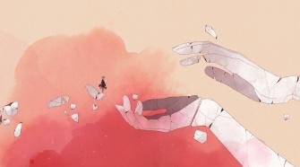 Gris, imagem do jogo do Nomada Studios