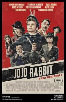 Jojo Rabbit, cartaz do filme