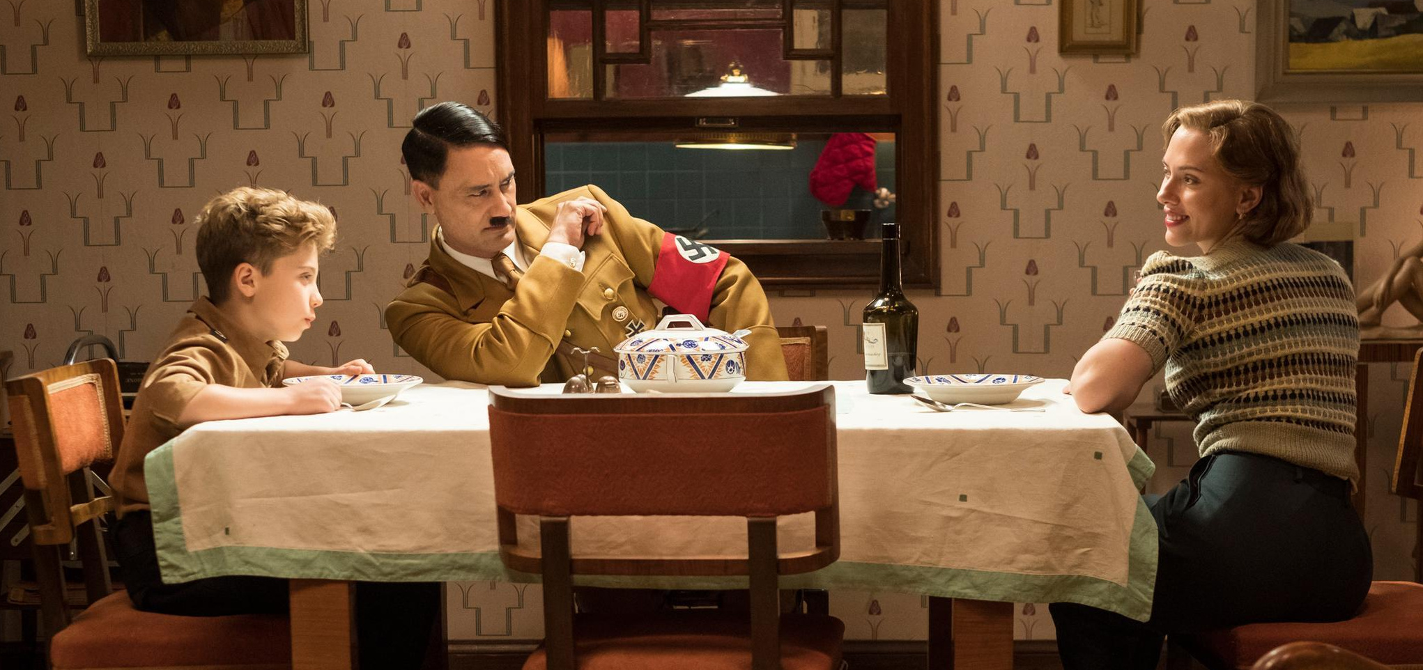 Jojo Rabbit, cena jantar