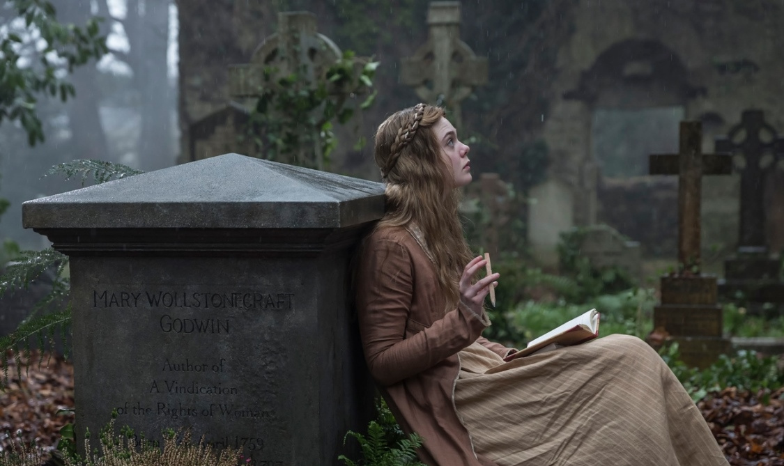 Cena do filme Mary Shelley
