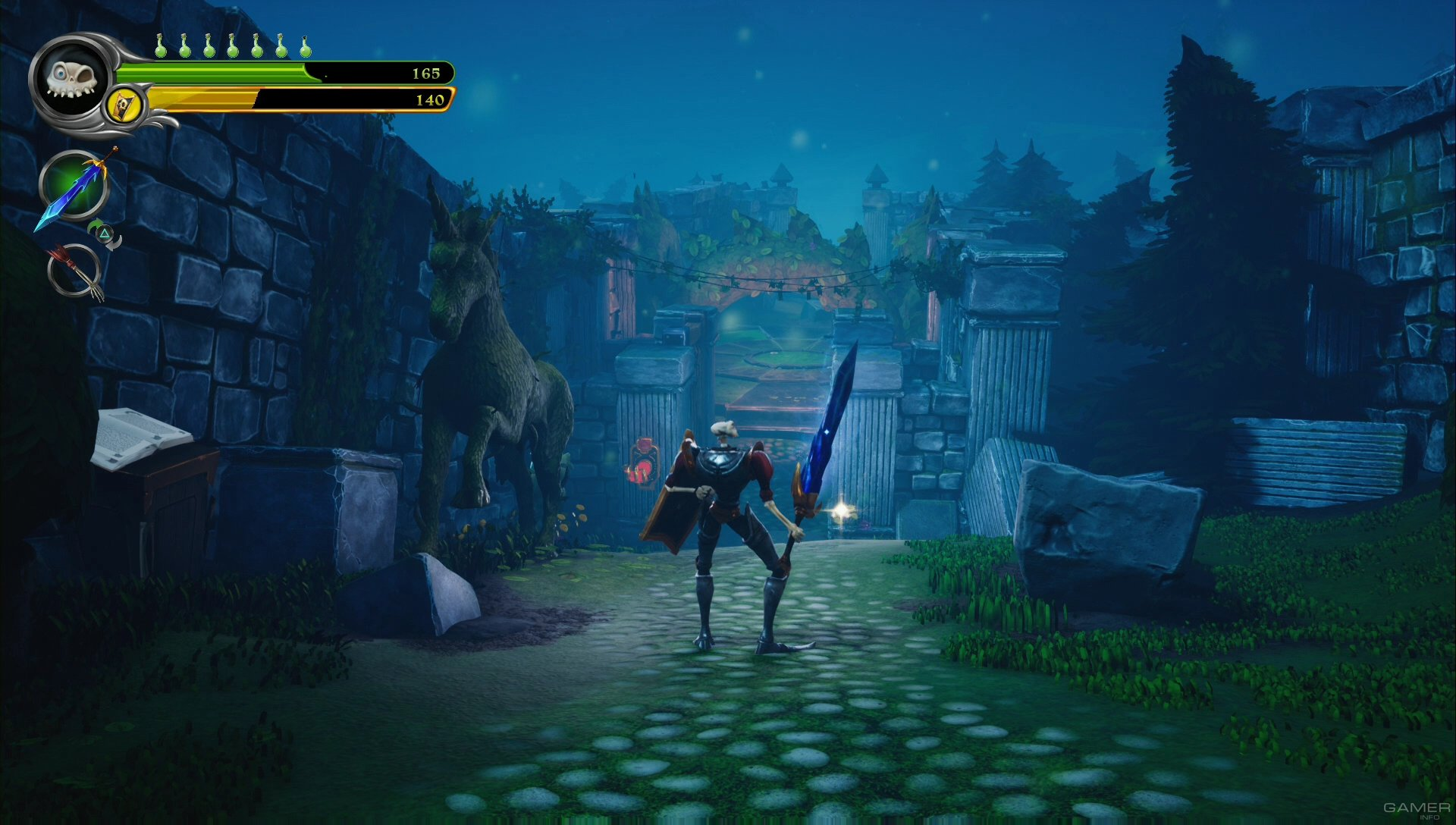 Medievil, imagem do jogo
