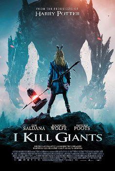 Caçadora de Gigantes, poster do filme