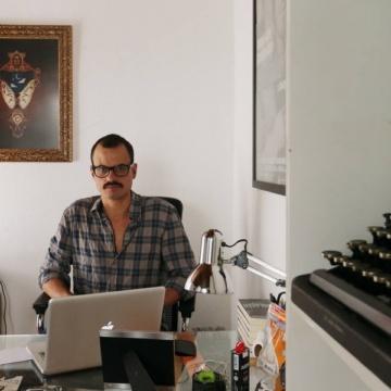 Carlos Messias, foto escritor