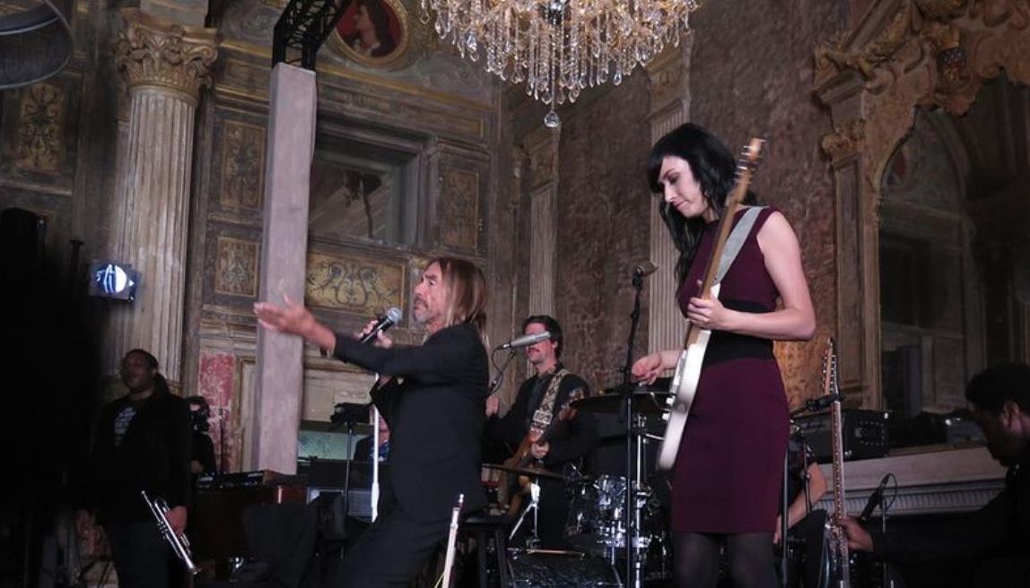 Iggy Pop, ao vivo em Paris