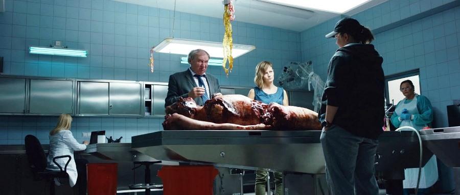 Morte às seis da Tarde, cena do filme
