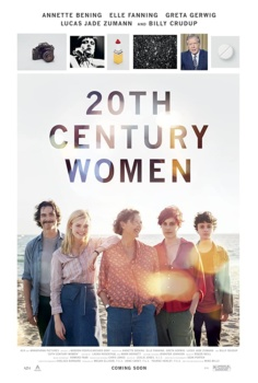 Mulheres do Século 20, cartaz do filme