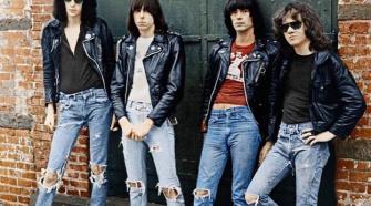 Ramones, foto da banda na década de 70