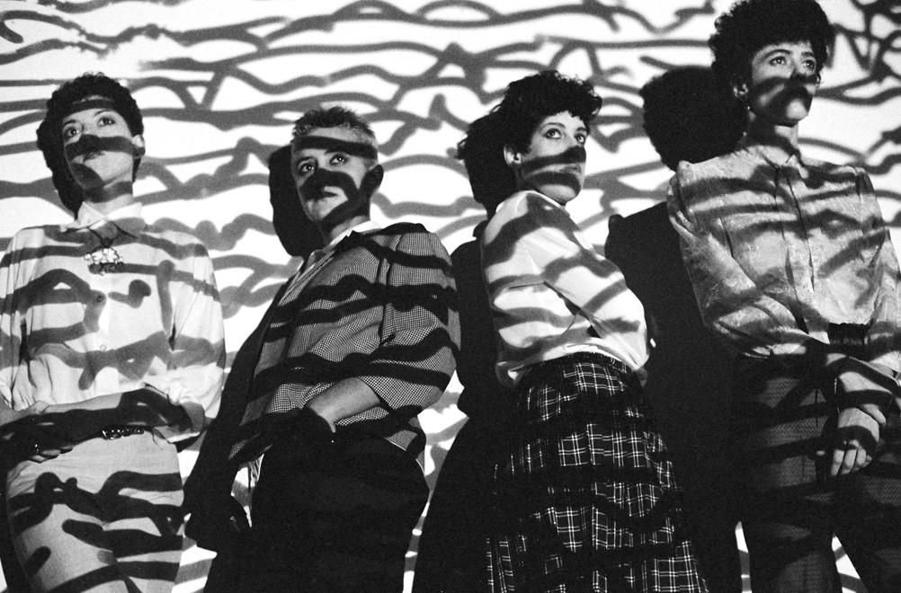 As Mercenárias, foto da banda