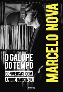 O Galope do Tempo. capa do livro de Marcelo Nova