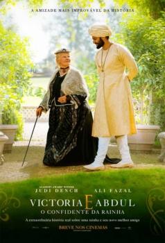 Victoria & Abdul, cartaz do filme