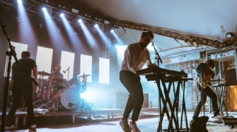 Cut Copy, live photo