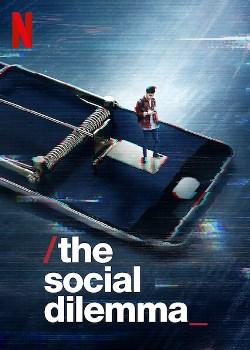 O Dilema das Redes, poster do documentário