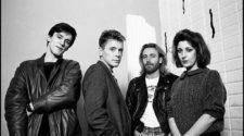 Foto do New Order em 1985