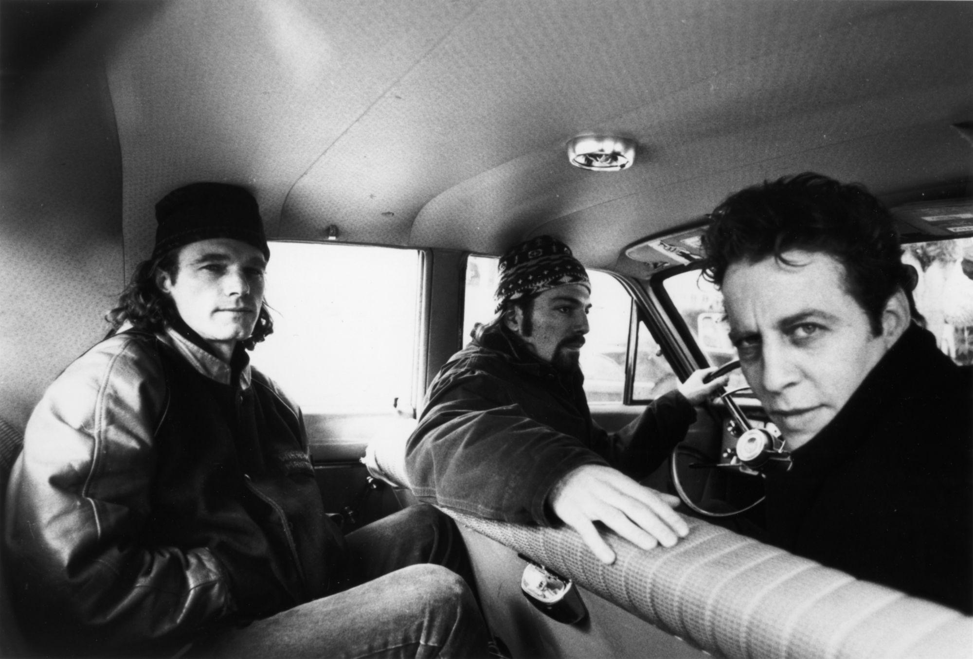 MArk Sandman com a banda Morphine